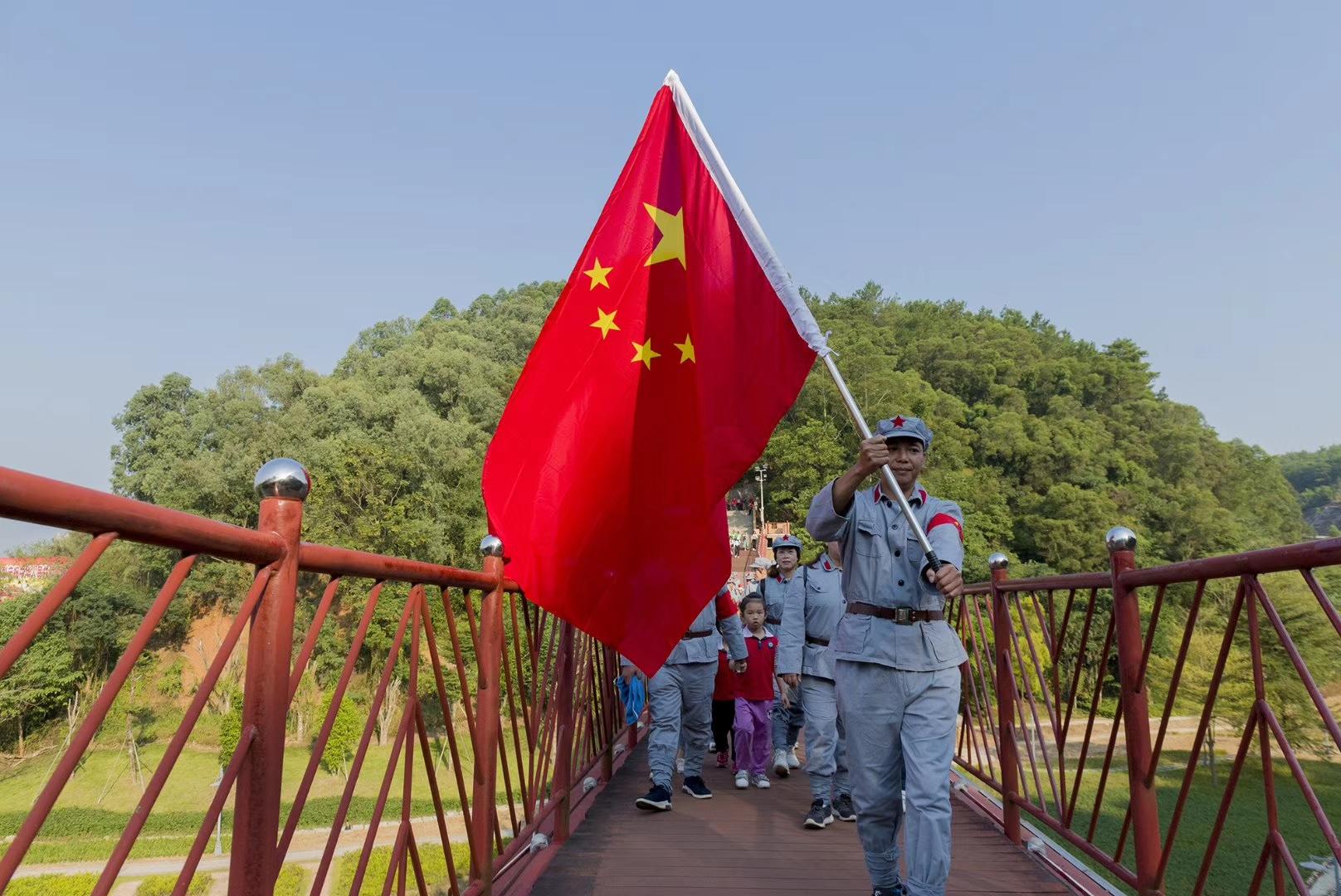 兴博旅全程辅导 百色起义纪念园创建5A景区成功(图2)
